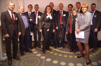 Group photo of Austrian participants; furthest to the left: K. Tritscher, EnTri Consulting